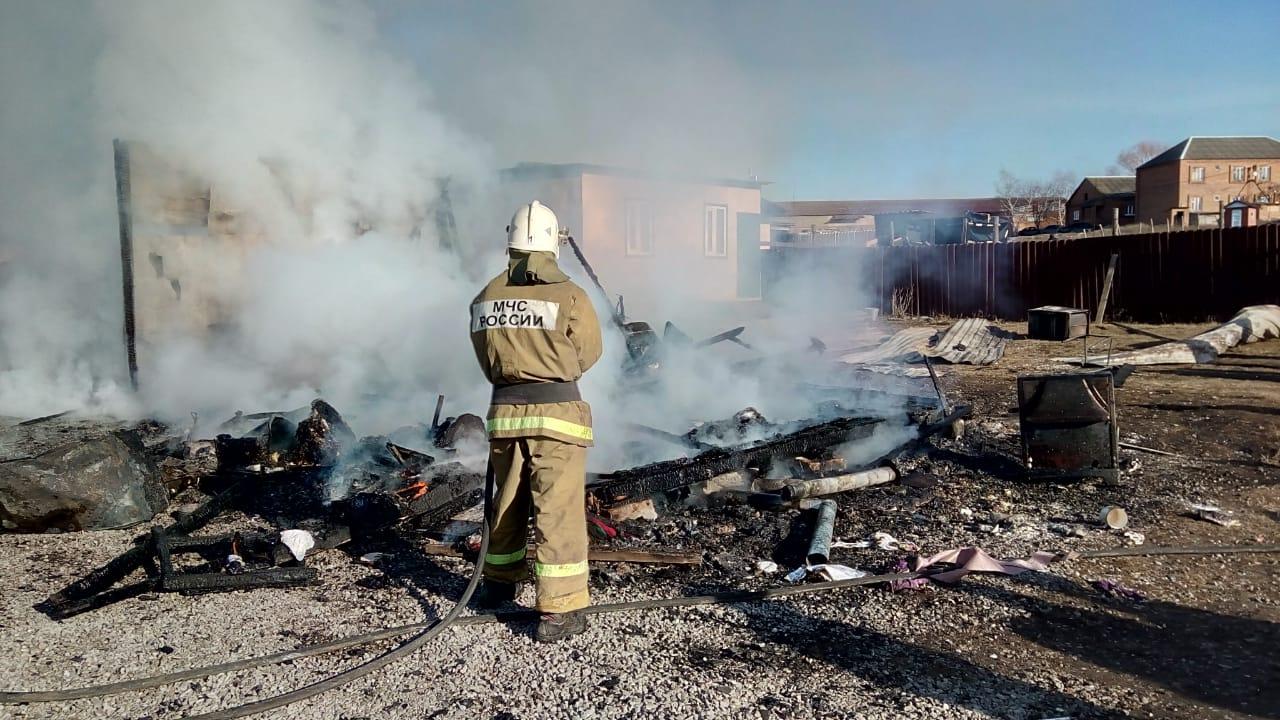 Пожар в сельском поселении Нестеровское