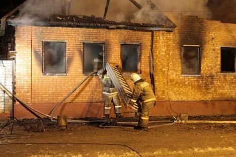 Взрыв бытового газа с последующим возгоранием с.п. Экажево.