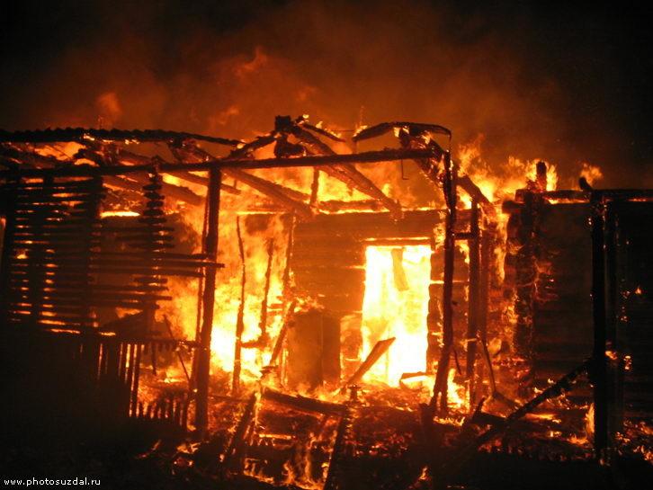Пожар в с.п. Троицкое. — МЧС России по Республике Ингушетия