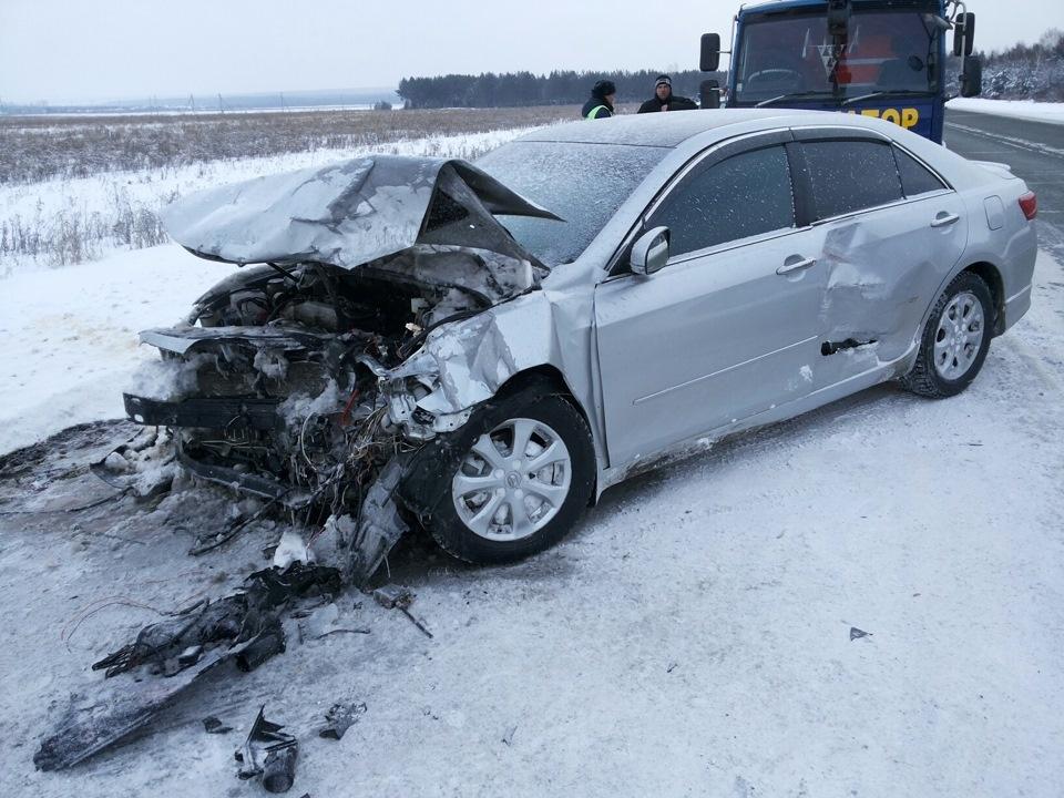 Дорожно-транспортное происшествие на 593 километре  ФАД
