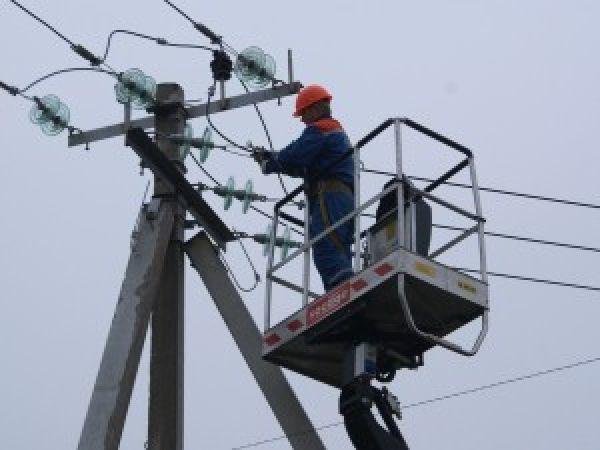 Отключение электроснабжения в сельском поселении Сурхахи
