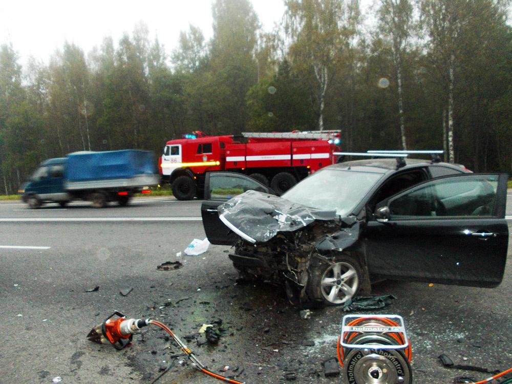 Дорожно-транспортное происшествие в сельском поселении Экажево
