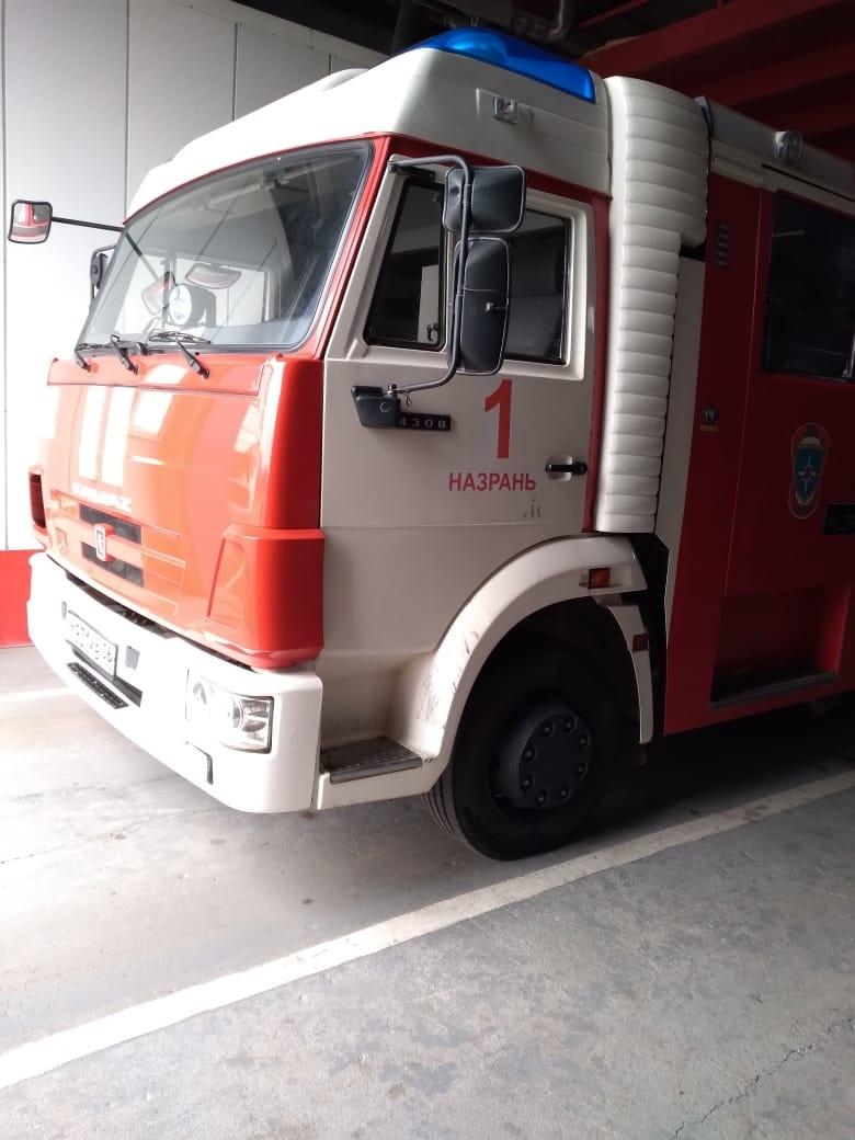 Пожар в городе Назрань — МЧС России по Республике Ингушетия